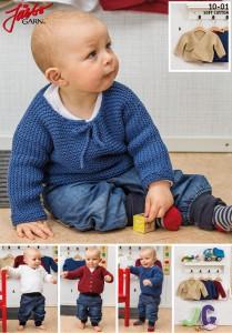 10-01: Rätstickade basplagg till baby