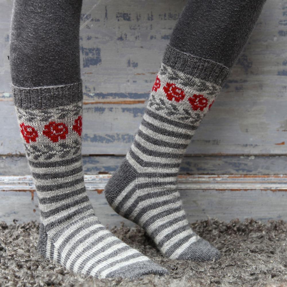 mönster till sockor